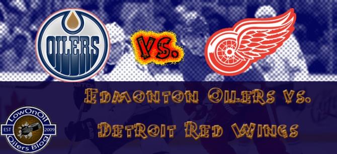 Edmonton Oilers vs. Detroit Red Wings